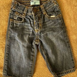 Old navy baby boy jeans size 3-6 months